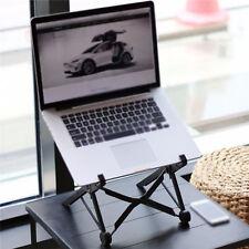 Halter Ständer für Notebook Tisch Laptop Computertisch Schwarz Ergonomisch NEU!