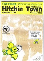 Hitchin Town v Slough Town 1994/5