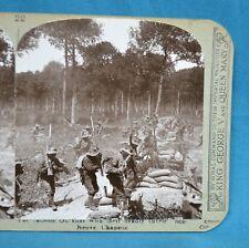 WW1 Stereoview Photo Famous Gurkhas With Kukries Near Neuve Chapelle Realistic