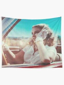 Lana Club Cars Lagend Wall Tapestry, Chemtrails over the Country Club Tapestry