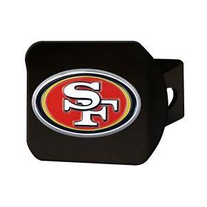 Fanmats NFL San Francisco 49ers 3D Color on Black Metal Hitch Cover Del 2-4 Days