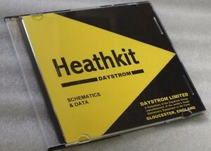 Heathkit - Circuit Diagrams - Schematics DVD - Heath Kit Technical Data Diagram