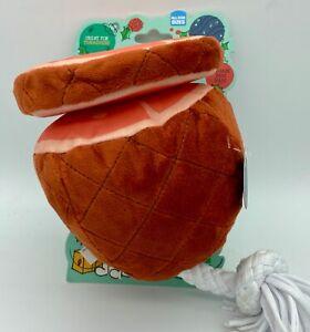 Bark Wham Bam Ham Deck The Howls Squeaker/Crinkler Dog Toy NEW All Sizes
