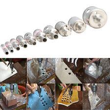 10pcs Diamant Glasschneider Kern Glas Bohrer Diamant-Lochsäge Fliesen 6mm-30mm