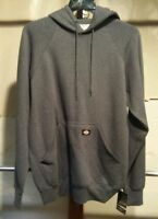 DICKIES Mens 6720 Heavyweight Fleece Pullover Hoodie CHARCOAL 4XL NWT