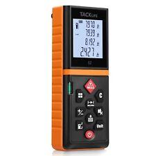 Tacklife Advanced Laser Measure 196 Ft Digital Laser Tape Measure With Mute Func
