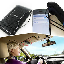Car Hands free Wireless Bluetooth Phone Speaker Sun Visor Mobile For Iphone 5 6