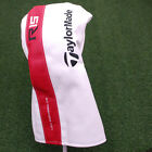 TaylorMade R15 Driver Headcover Red&White&Black Simulated Leather Head Cover NEW