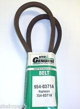 Original MTD 954-0371A Belt Compatible With 754-0371A