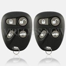 2 Car Key Fob Keyless Entry Remote For 1998 1999 2000 Cadillac Eldorado