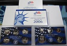 2006 S 10pc proof set blue box (#28a)