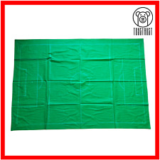 More details for subbuteo football picth vintage table football toy cloth soccer accessories s10