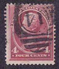 US 215 Used 1888 4¢ Carmine Lincoln