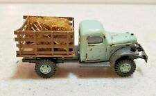 Vintage Busch Ho 1/87 Dodge Power wagon Farm Truck with Hay Load Made in Germany