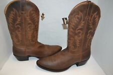 CODY JAMES Mens  BROWN SZ 13 D Round Toe CLASSIC Western Boots LEATHER BBM121