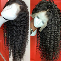 100% Brazilian Virgin Human Hair Wig 13x6 Lace Front Wig Loose Water Wave Curly