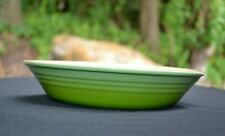 """Le Creuset Round Pie Kiwi Green Stoneware Baking Dish 9"""""""
