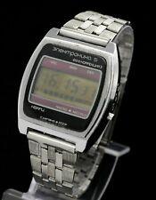 Original Veri Rare SEKONDA ELEKTRONIKA 5 LCD Digital  watch Russian Quartz USSR