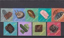 a109 - MOZAMBIQUE - SG608-616 MNH 1971 ROCKS, MINERALS & FOSSILS