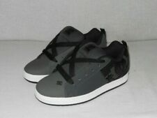 DC Court Graffik Se 300927 Leather  Low GREY/ Black Men's Size 8