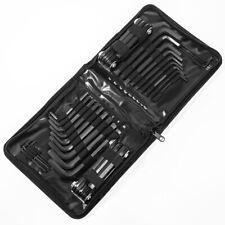 45PC Combo Hex Key Allen Wrench Set SAE MM LONG SHORT Folding ARM