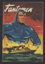 Fantomen - The Phantom - 1952 Vintage Swedish Golden Age Comic #Nr 12