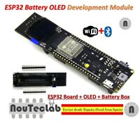 WiFi Bluetooth Battery ESP32 ESP-32 0.96 inch OLED Development Tool WEMS TTGO