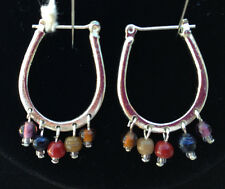 Lot of (5) Natural Healing Stone Gemstone Earrings for pierced ears SS posts