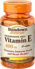 Sundown Vitamin E 400iu Dl-alpha Sgt 100ct
