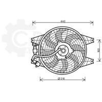 Fan Engine Cooling Radiator Fan Blower Motor for Kia Sorento I Jc
