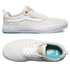 New Vans Mens 7 Womens 8.5 Kyle Walker Pro White Ceramic Suede Shoes Sneakers