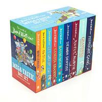 The World of David Walliams Mega-tastic - 9 books collection box set pack - NEW