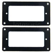 1 Pair Black Guitar Humbucker to Mini-Humbucker Adapter Pickup Ring