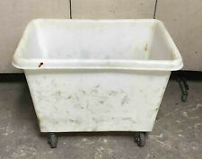 Poly Utility Cart 32 X 20 X 20 Transport Laundry Bin Plastic Local Pickup Only