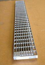 """Mea-Josam 4.8""""W x 39.4""""L 152312 B Class Galvanized Steel Mesh Grate"""