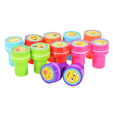 1PC Gift For Kids Gift Reward Emoji Smile Silly Face Stamps Stationery Stampers