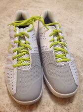 Rare Never Release K-Swiss Grass Court Sample Mens Shoes Size 12 White/Grey/Lime