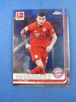 Topps Bundesliga Chrome 2019/20 Lucas Hernandez Bayern München #53