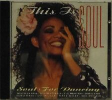 VARIOUS ARTISTS 'THIS IS SOUL - SOUL FOR DANCING' 18-TRACK CD