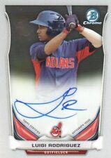 2014 Bowman Chrome Prospect Baseball #BCAP-LR Luigi Rodriguez AUTO