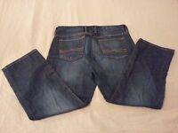 Womens Lucky Brand Jeans 6 28 Crop Capri Denim 31x25 Pants