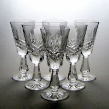 Britain Wine Glass Contemporary Original Crystal & Cut Glass