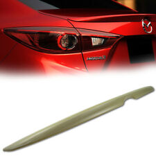 OE Style Trunk Spoiler For 2014-2018 Mazda Mazda3 BM BN Sedan (UNPAINTED) NEW