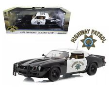 1979 CHEVY CAMARO Z/28 CALIFORNIA HIGHWAY PATROL CHP GREENLIGHT 1/18
