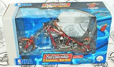 MIAMI HEAT BASKETBALL DIECAST MOTORCYCLE ERTL NBA 1:10 SCALE OCC CHOPPER 2005