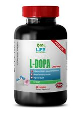natural dopamine - L-DOPA EXTRACT 350mg - stress relief supplement 1B