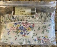 Longaberger Spring Floral DARNING Basket LINER ~ Brand New in Original Bag!