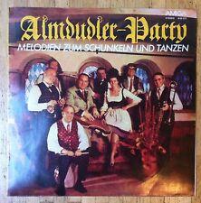 Alfons Bauer & ses almdudler almdudler-party LP