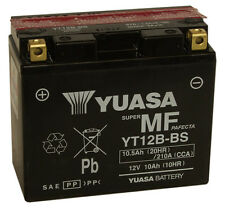 Genuine Yuasa YT12B-BS YT12B-4 Motorbike Motorcycle Battery Inc Filling Kit