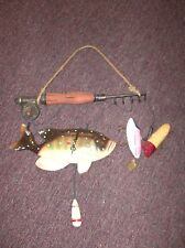 Large Fishing Wall Clock.  New no Box